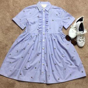 NWT Kate Spade ♠️ abuzz poplin dress